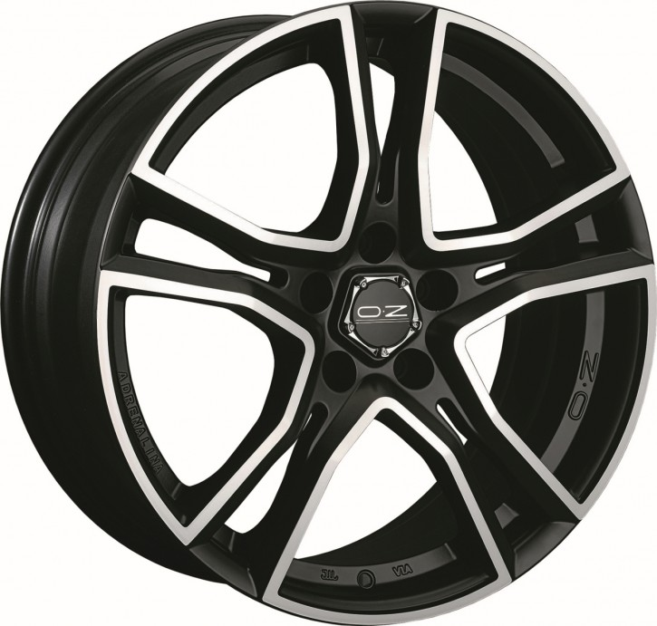 OZ ADRENALINA 7x16 4/108 ET 25 MATT BLACK POLIERT
