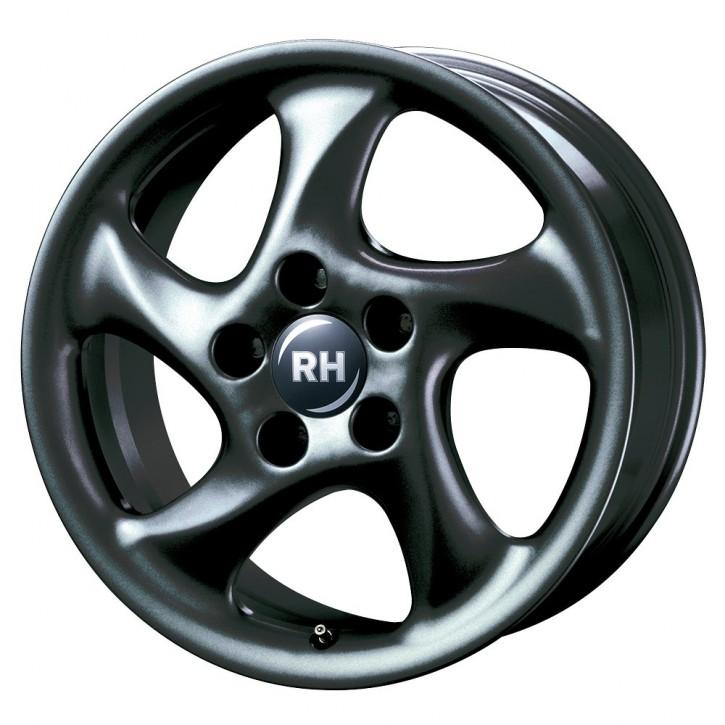 RH AH Turbo 10x18 5/130 ET 54 racing schwarz lackiert