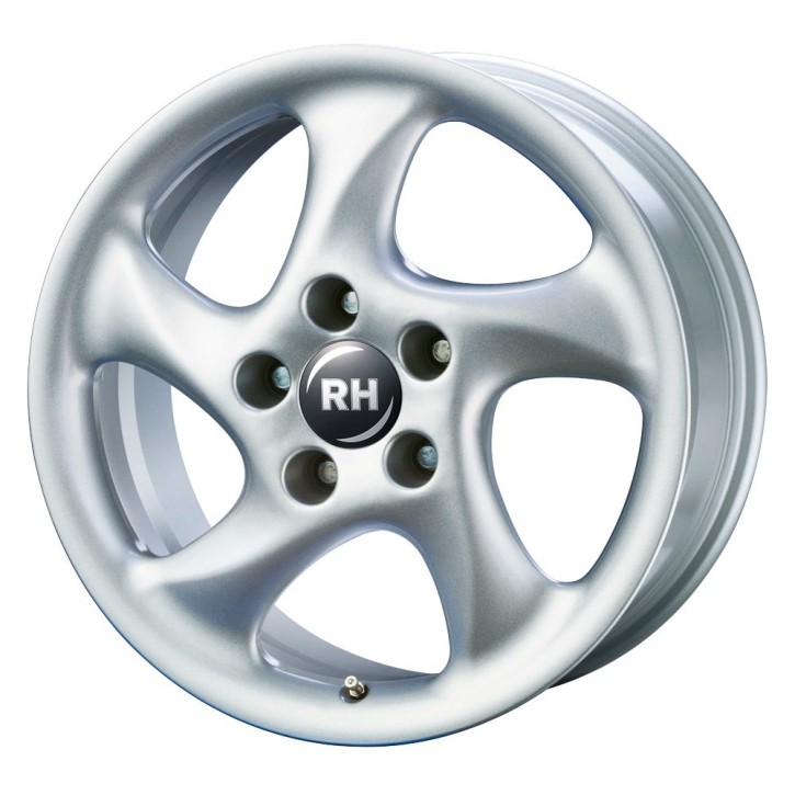RH AH Turbo 11x18 5/130 ET 52 SPORT-Silber lackiert