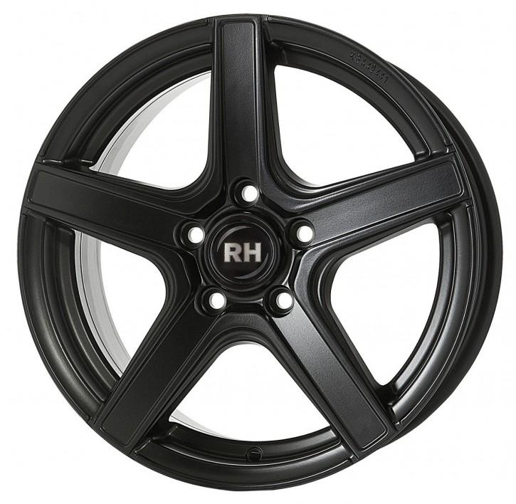 RH AR4 7x16 5/105 ET 35 racing schwarz lackiert