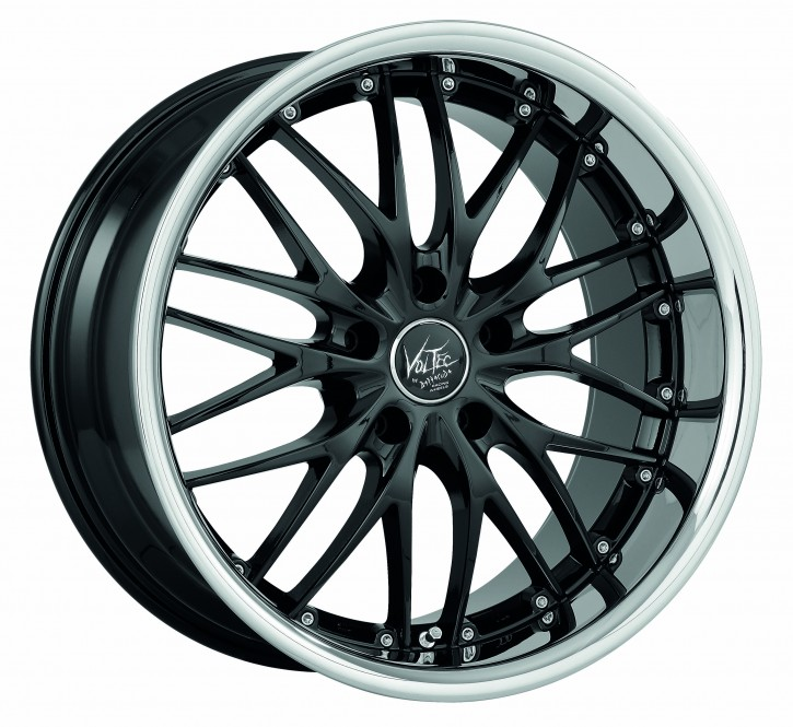 BARRACUDA VOLTEC T6 8,0x19 5/114 ET 40 Higloss black inox lip