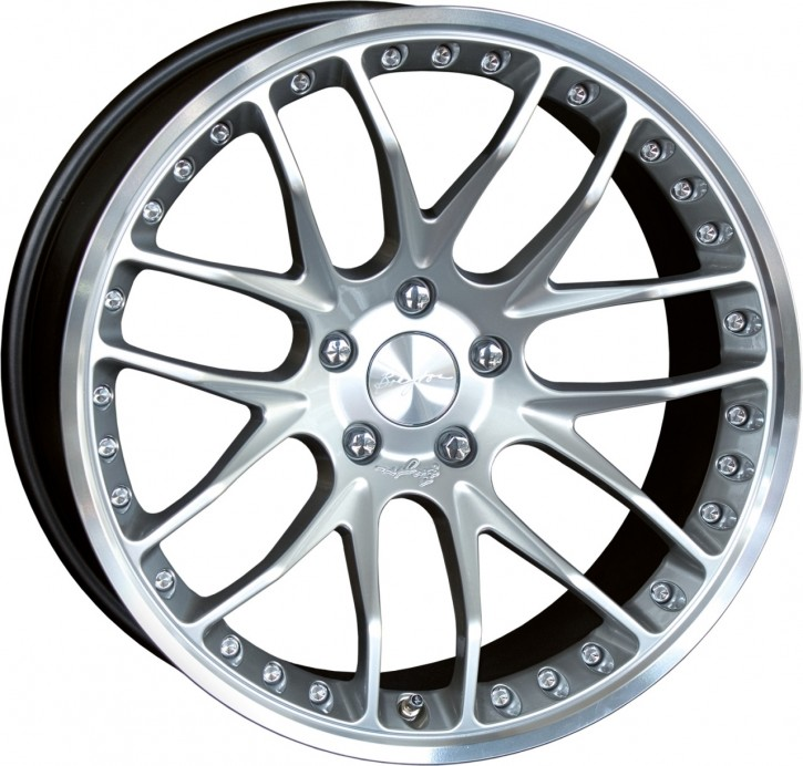 Breyton Race GTP 10,5x21 5-120 ET 44 Hyper silver small polished lip