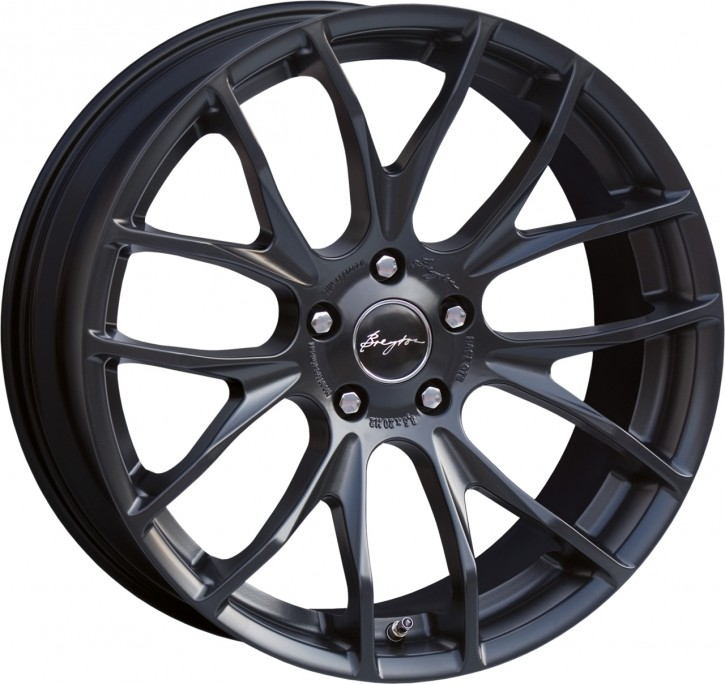 Breyton Race GTS 8,5x20 5-112 ET 24 Matt Black