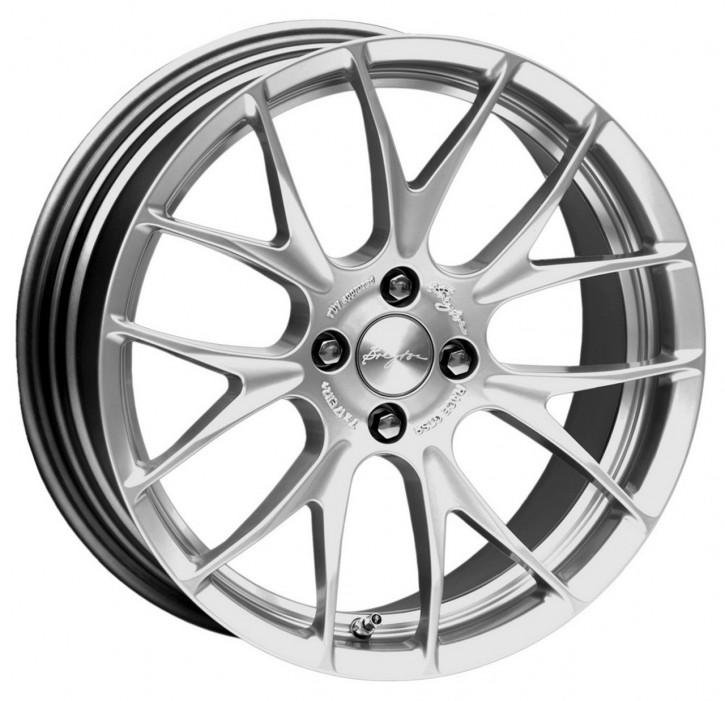 Breyton Race GTS-R 7,0x17 4-100 ET 40 Hyper silver undercut