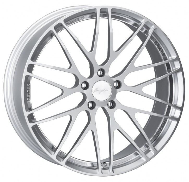 Breyton Spirit RS 10,0x21 5-120 ET 32 Silver anodised