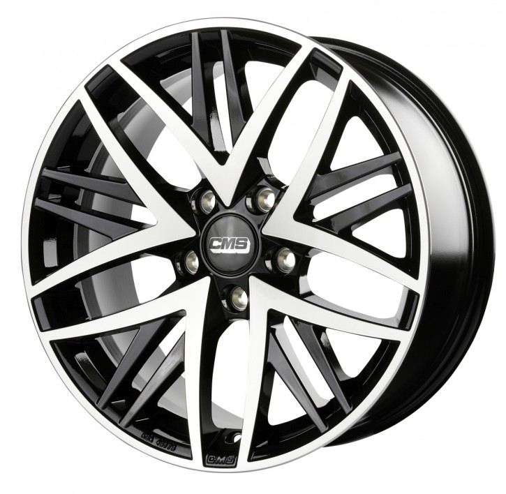 CMS B1 8,5x20 5/120 ET 38 Diamond Black Gloss