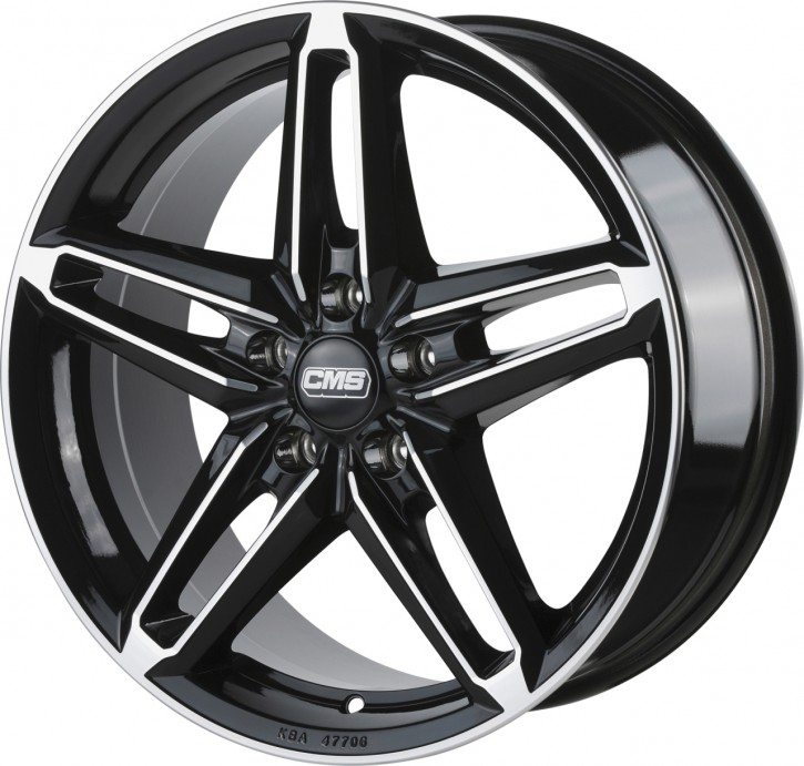 CMS C14 7x16 5/108 ET 45 Diamond Black Gloss