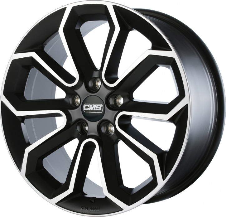 CMS C20 8x19 5/108 ET 50 Diamond Matt Black