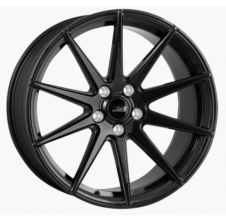 ELEGANCE WHEELS E 1 Concave 8,5x19 5/112 ET 35 Highgloss Black