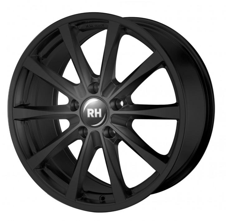 RH GT 8x18 5/105 ET 35 schwarz glanz lackiert