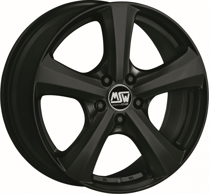 MSW 19 6,5x15 5/114,3 ET 45 MATT BLACK