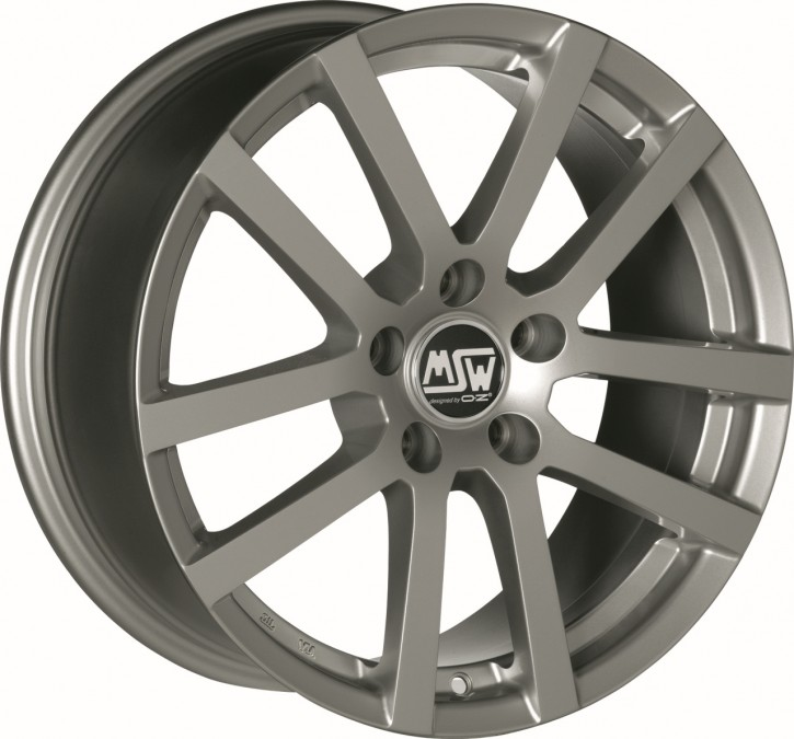 MSW MSW 22 6.5x16 5/105 ET 38 GREY SILVER