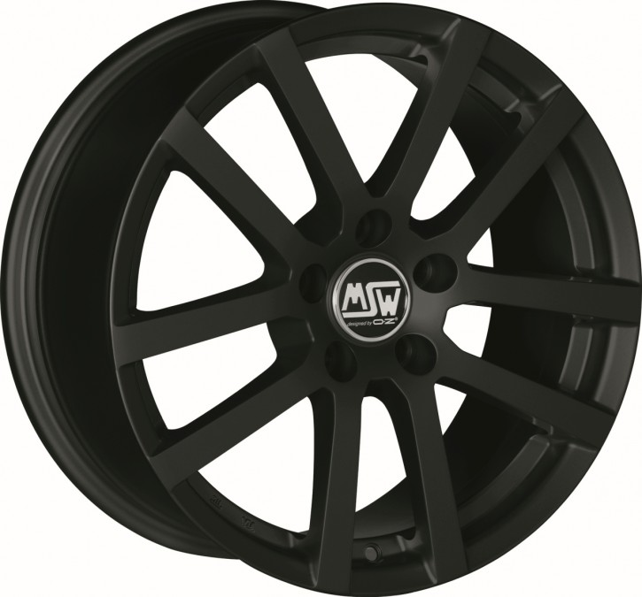 MSW 22 6,5x16 4/108 ET 25 MATT BLACK