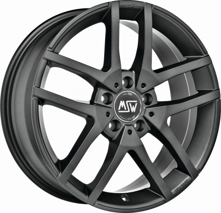 MSW 28 6,5x16 5/110 ET 40 MATT DARK GREY