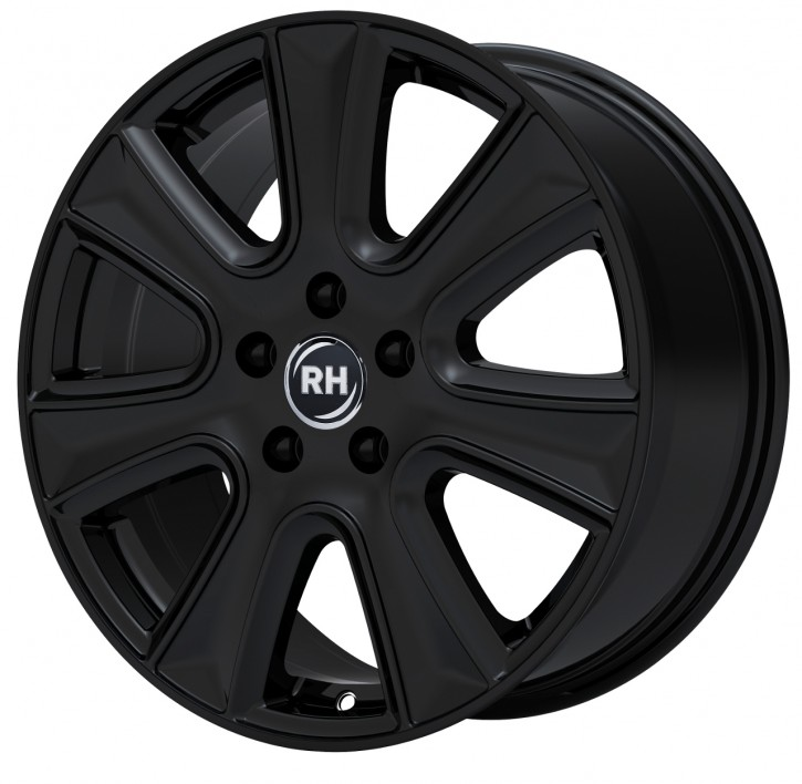 RH NAJ II 8x18 5/105 ET 35 racing schwarz lackiert