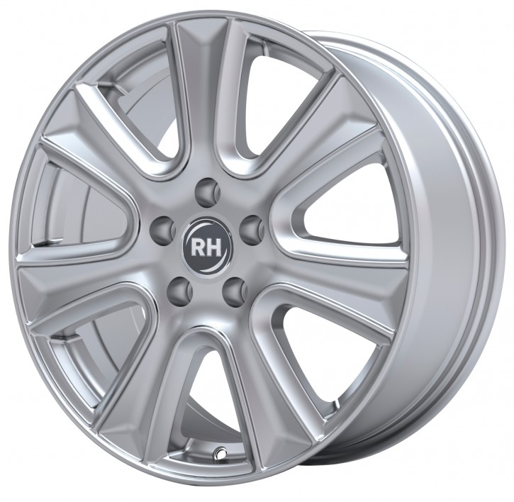 RH NAJ II 8x18 5/105 ET 45 SPORT-Silber lackiert