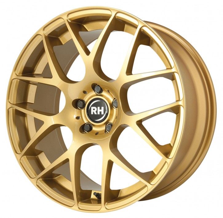 RH NBU Race 8,5x19 5/114 ET 40 racing gold glanz