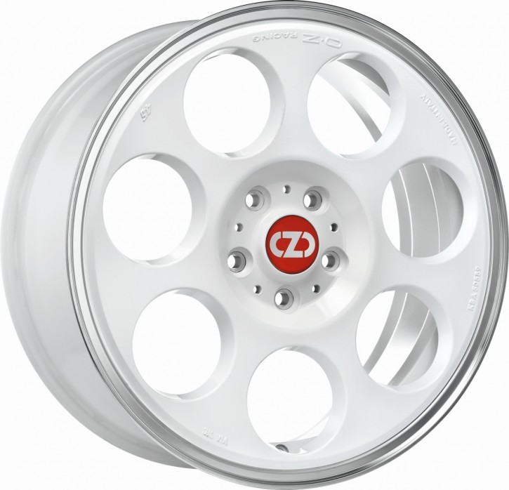 OZ ANNIVERSARY 45 7x17 4/100 ET 37 RACE WHITE DIAM.LIP.