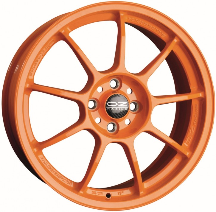 OZ ALLEGGERITA HLT 8.5x18 5/120.65 ET 53 ORANGE