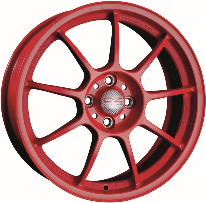 OZ ALLEGGERITA HLT 10x18 5/120.65 ET 40 RED