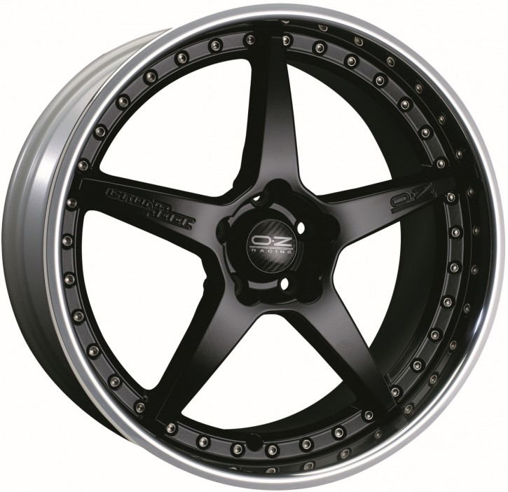 OZ CRONO III 9.5x20 5/114.3 ET 59 MATT BLACK