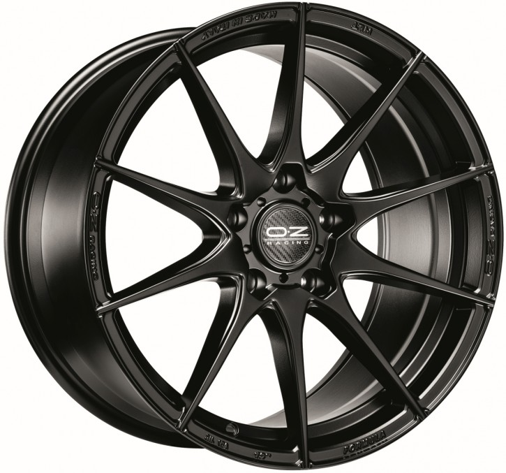 OZ FORMULA HLT 7x17 4/100 ET 42 MATT BLACK