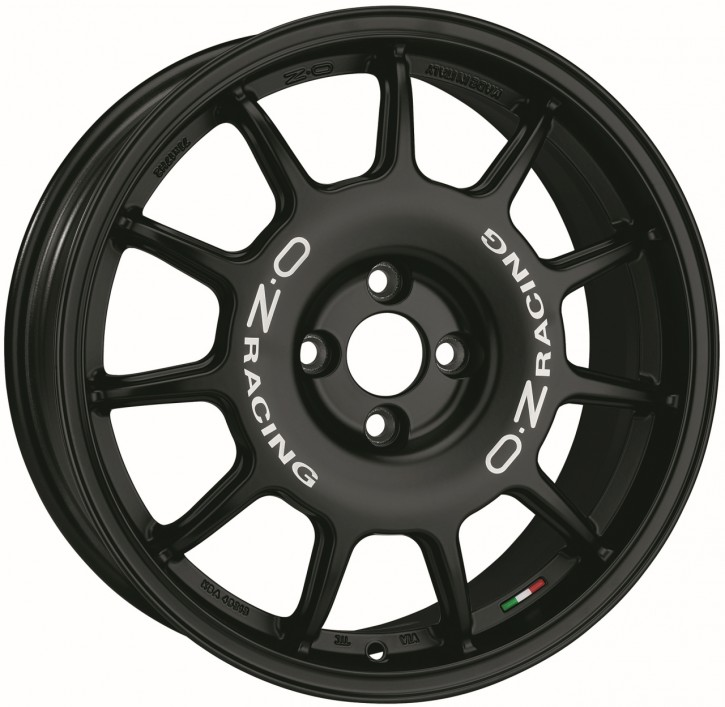 OZ LEGGENDA 7x17 4/108 ET 25 MATT BLACK