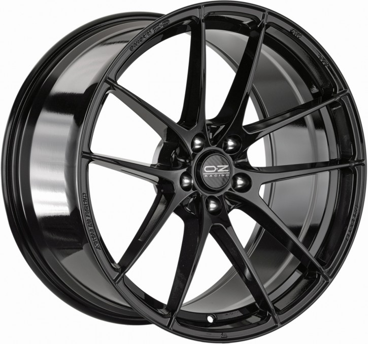 OZ LEGGERA HLT 8x19 5/108 ET 45 GLOSS BLACK