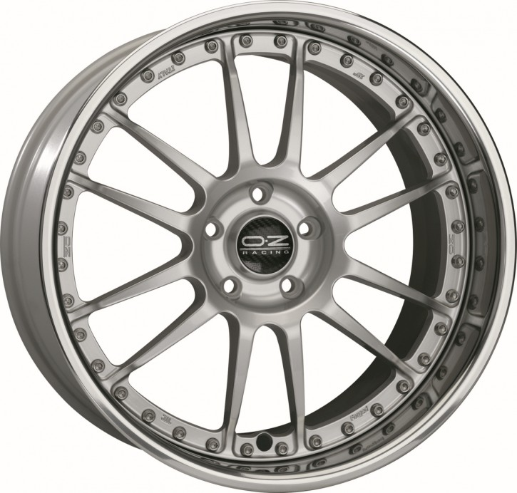 OZ SUPERLEGGERA III 8.5x20 5/120 ET 13 RACE SILVER