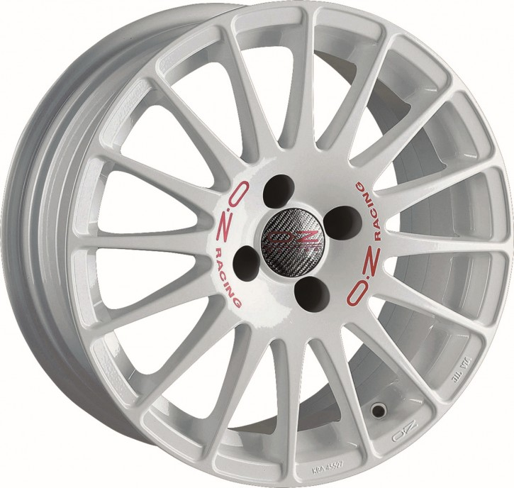 OZ SUPERTURISMO WRC 7x17 4/108 ET 25 WHITE