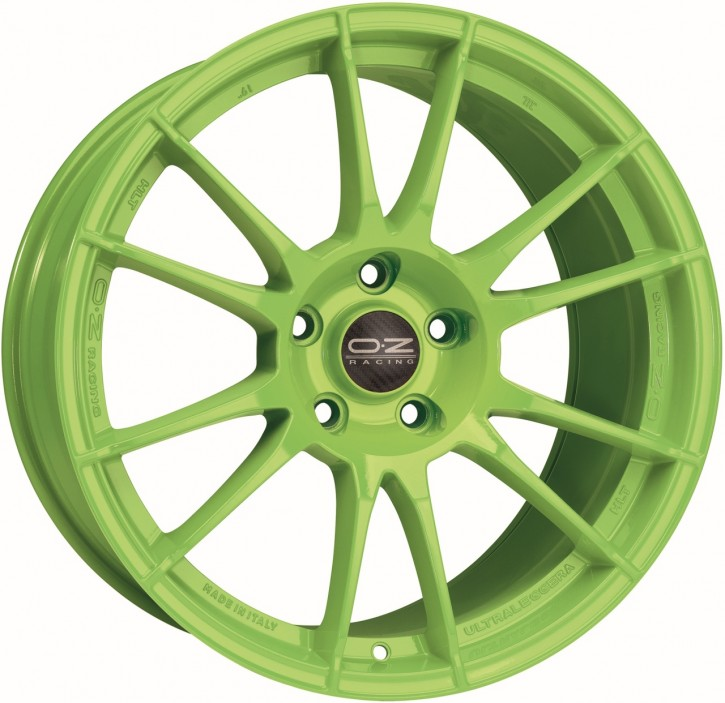 OZ ULTRALEGGERA HLT 12x20 5/120,65 ET 57 ACID GREEN