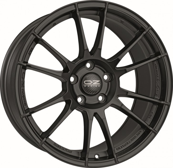 OZ ULTRALEGGERA HLT 8.5x19 5/114.3 ET 38 MATT BLACK