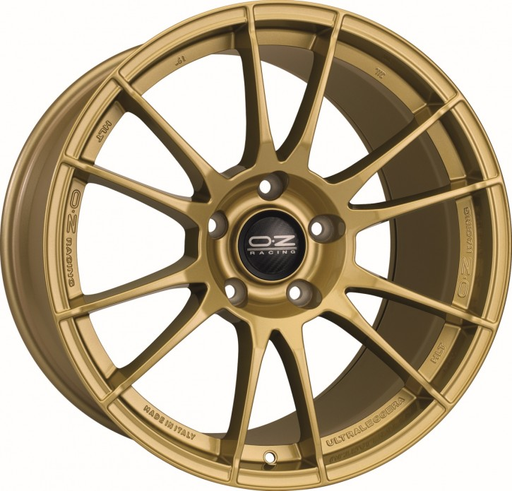 OZ ULTRALEGGERA HLT 8.5x19 5/114.3 ET 38 RACE GOLD