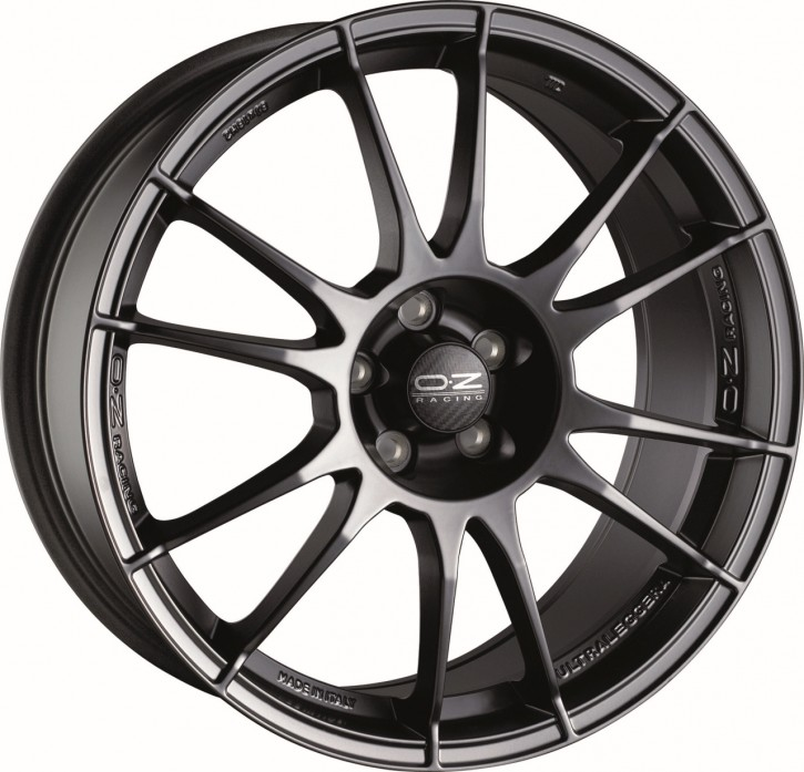OZ ULTRALEGGERA 7x17 4/98 ET 35 MATT BLACK