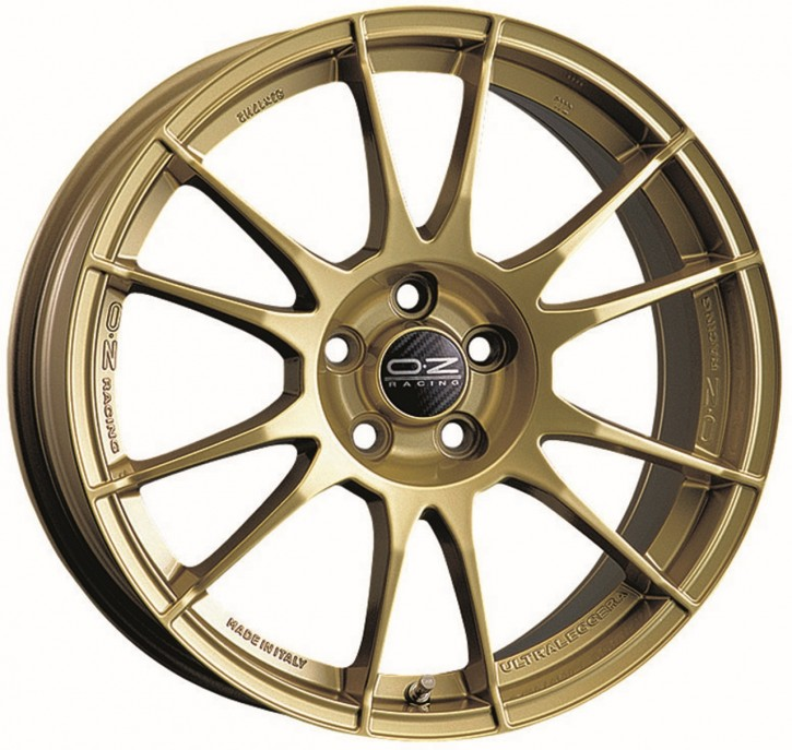 OZ ULTRALEGGERA 8x17 5/114.3 ET 48 RACE GOLD
