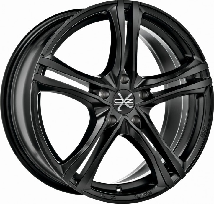 OZ X5B 7x16 5/114.3 ET 45 MATT BLACK