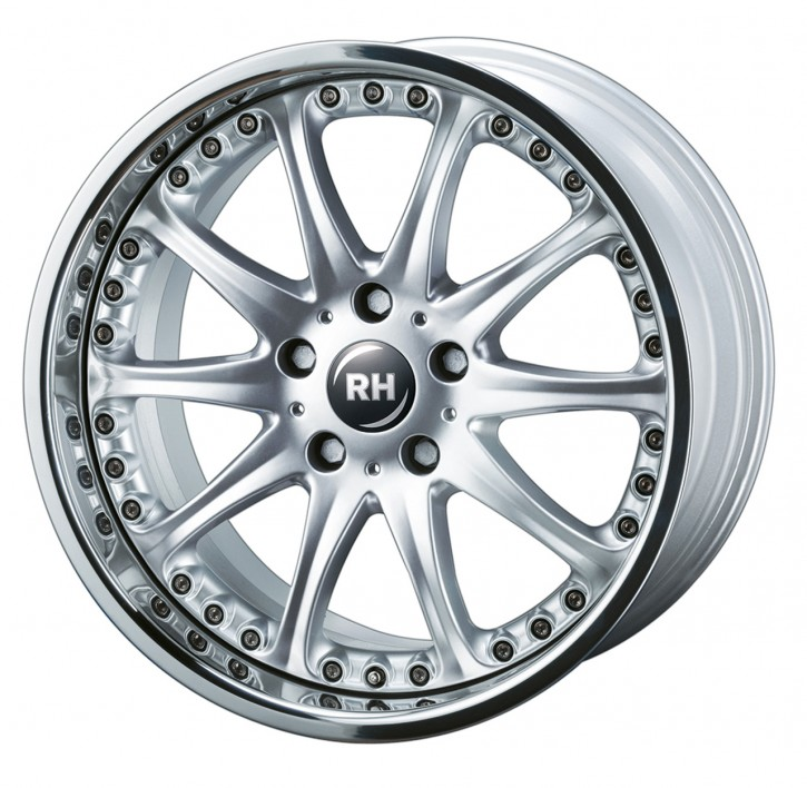 RH RAK Phönix 8,5x20 5/110 ET 44 silber/Horn Edelstahl