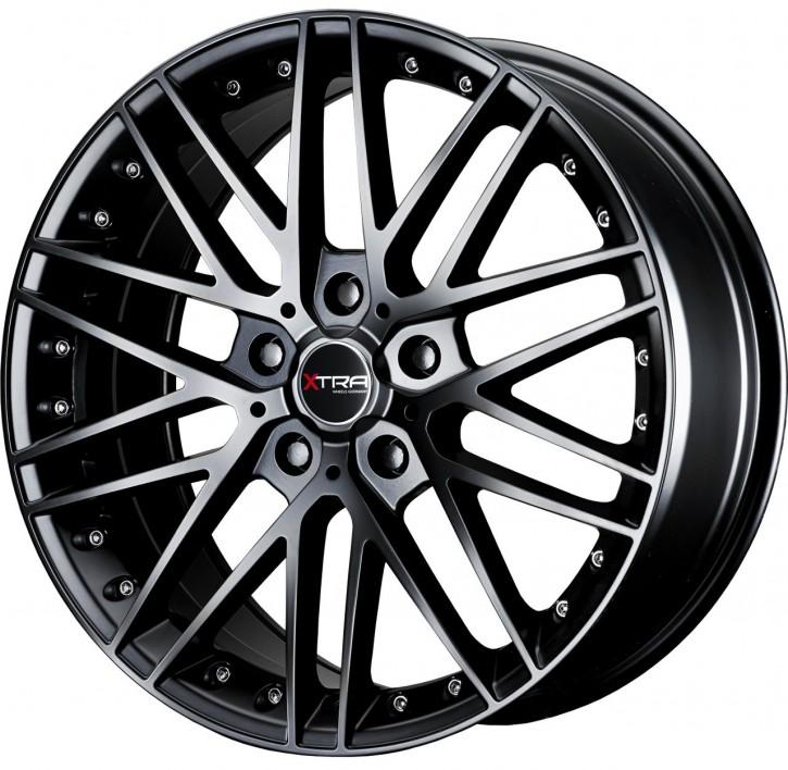 XTRA Wheels SW1 8x18 5/108 ET 45 Schwarz matt