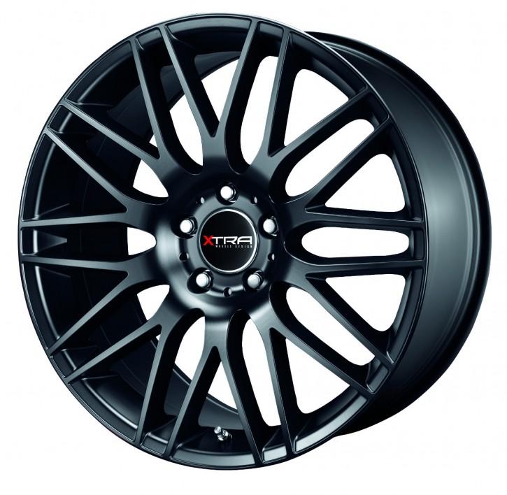 XTRA Wheels SW2 8x17 5/108 ET 35 Schwarz matt