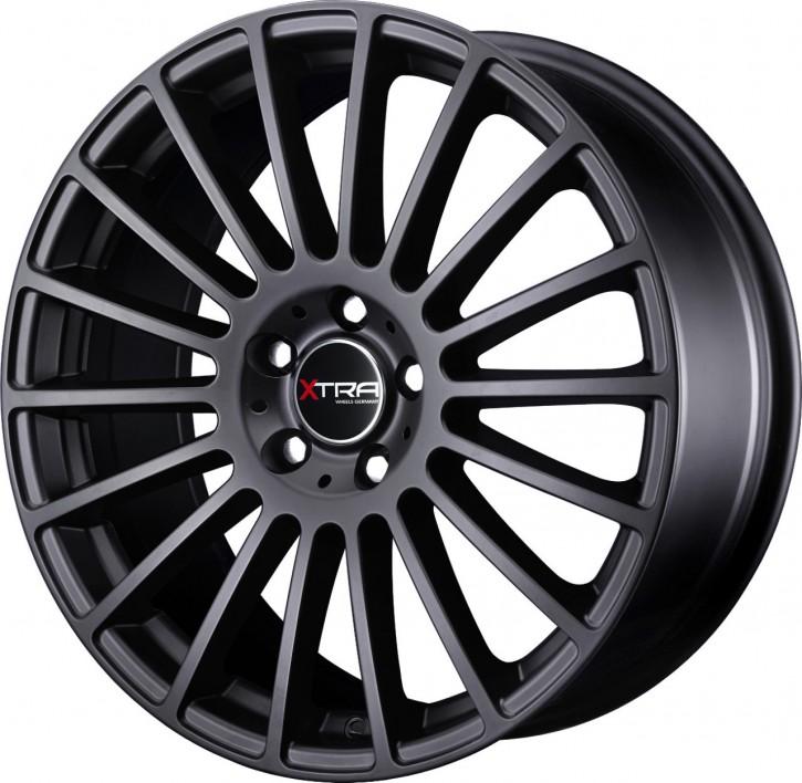 XTRA Wheels SW3 8x18 5/108 ET 35 Schwarz matt
