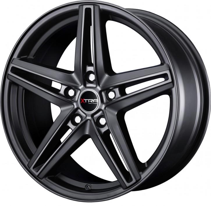 XTRA Wheels SW4 8x18 5/108 ET 45 Schwarz matt