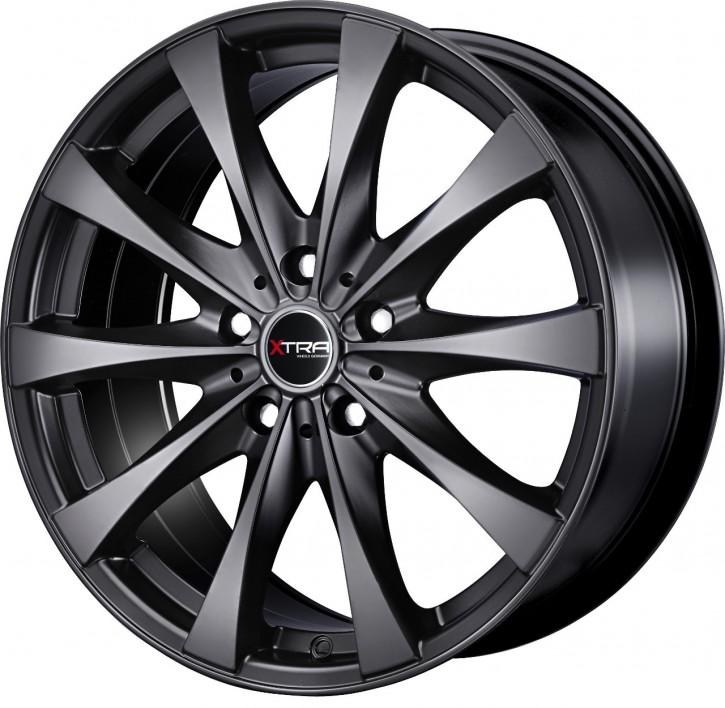 XTRA Wheels SW4i 7x16 5/108 ET 40 Schwarz matt