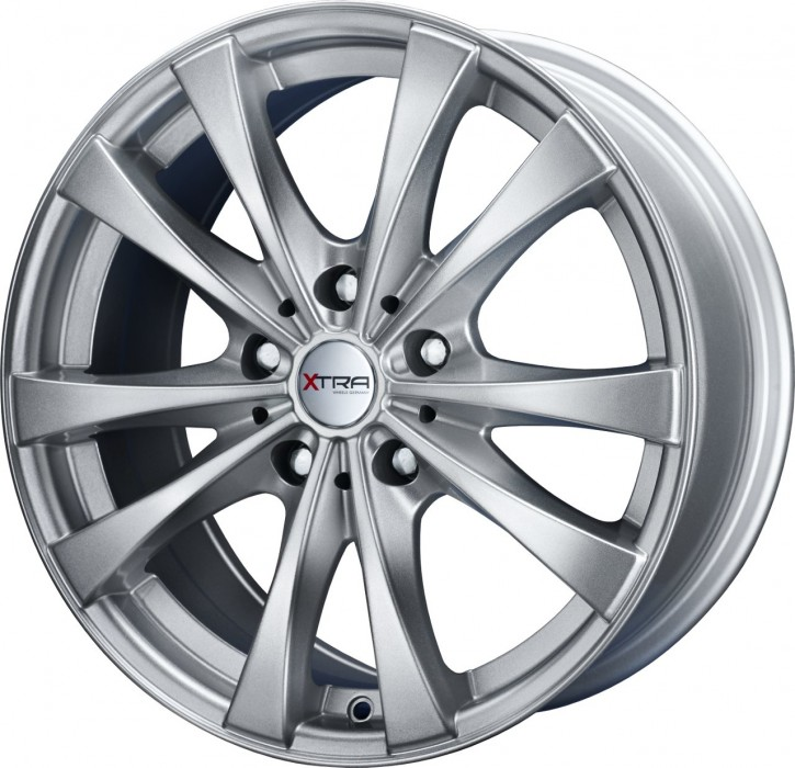 XTRA Wheels SW4i 7,5x17 5/108 ET 40 hyper silber