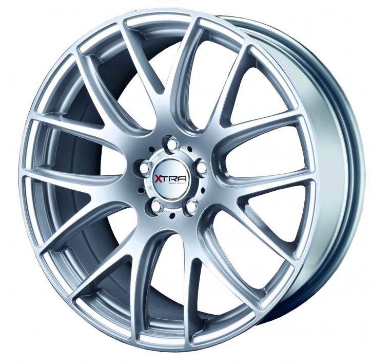 XTRA Wheels SW5 8,5x18 5/108 ET 35 hyper silber