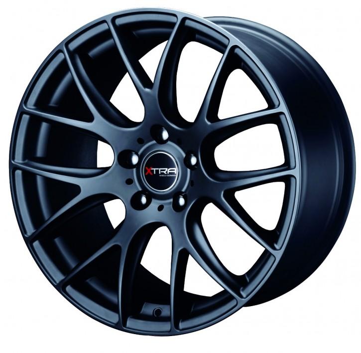 XTRA Wheels SW5 8x17 5/108 ET 35 Schwarz matt