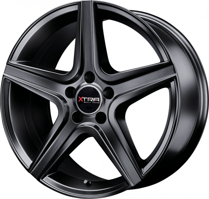 XTRA Wheels SW6 8x18 5/112 ET 45 Schwarz matt