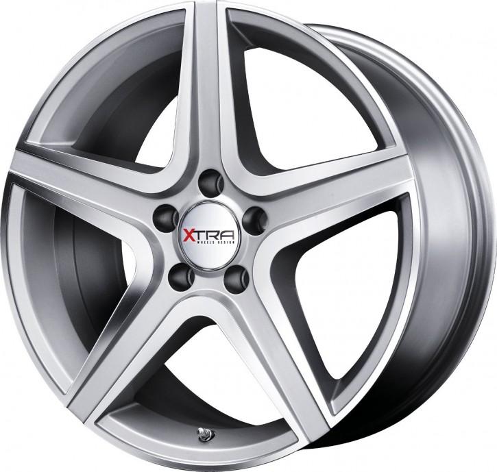 XTRA Wheels SW6 8,5x20 5/112 ET 35 gunmetall voll poliert