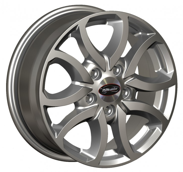Team Dynamics SCORPION 6x15 5/118 ET 58 Hi-Power-Silver (Premium Silber)