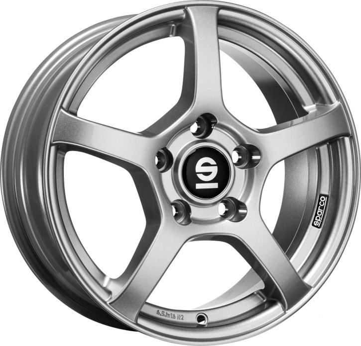 MSW SPARCO RTT 7x17 5/120 ET 48 FULL SILVER
