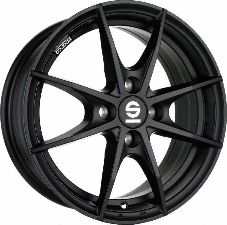 Sparco TROFEO 4 6x15 4/108 ET 22 MATT BLACK